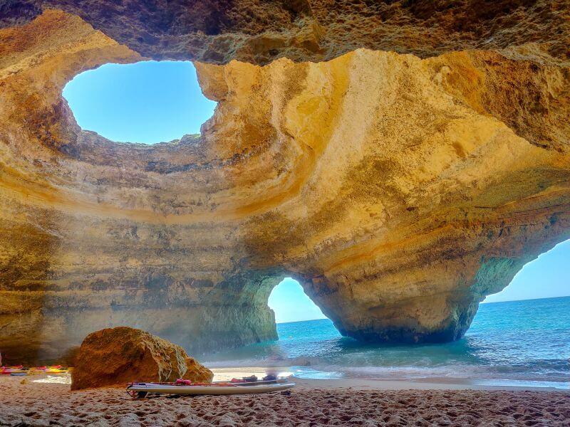 Höhle von Benagil in Portugal
