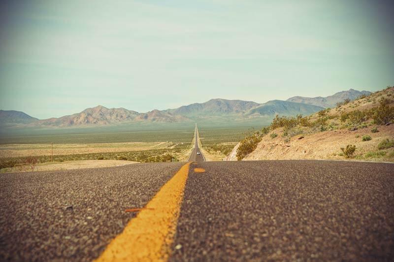 Death Valley Highway Kalifornien
