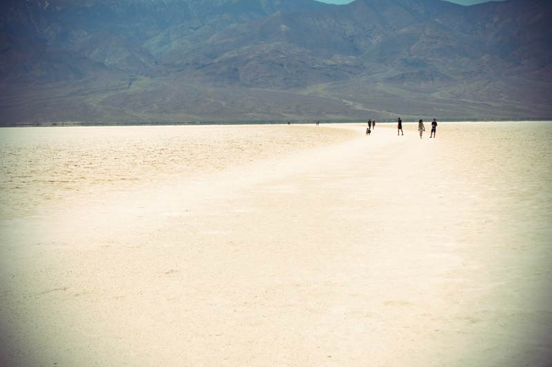 Badwater in Death Valley Kalifornien