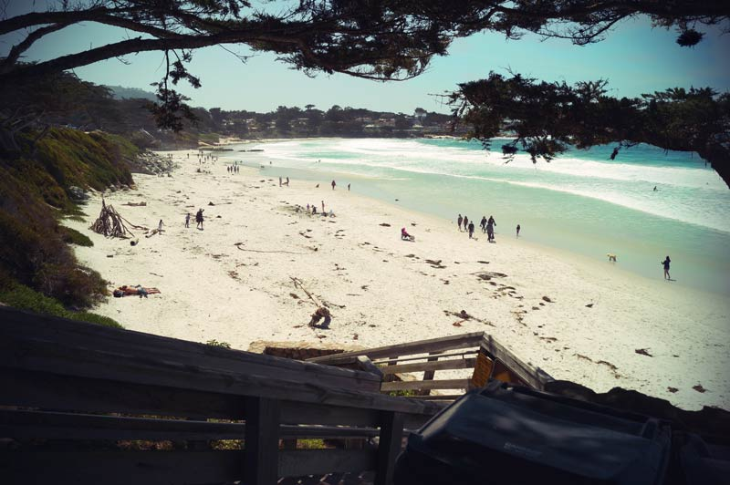 Roadtrip Kalifornien Strand von Carmel by the Sea