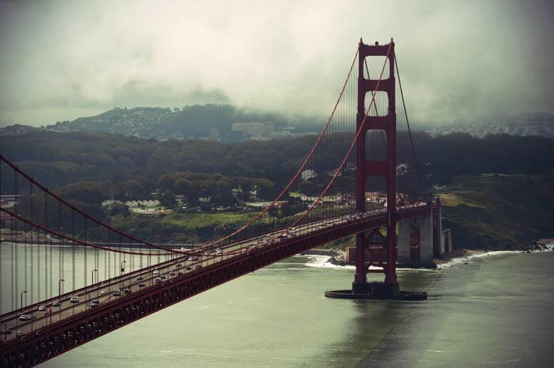 Kalifornien Roadtrip: San Francisco Golden Gate Bridge