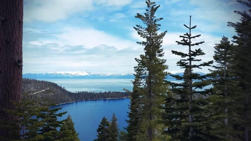 Kalifornien Roadtrip Emerals Bay am Lake Tahoe