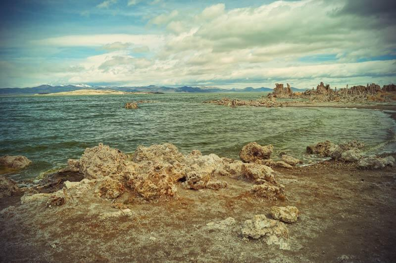 Kalifornien Roadtrip Tufa am Mono Lake