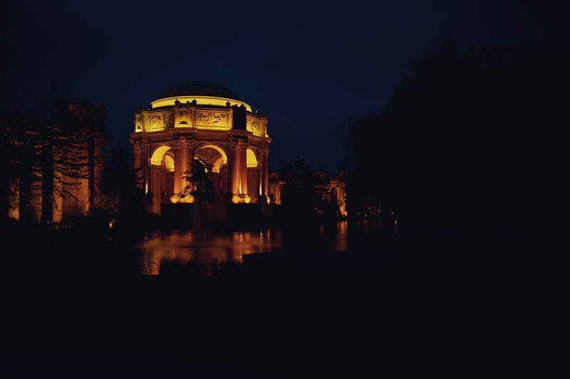 Kalifornien Roadtrip: San Francisco Palace of Fine Arts
