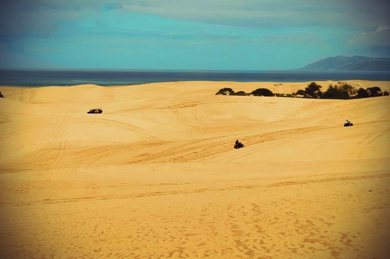 Roadtrip Kalifornien Mit dem ATV über die Dünen von Pismo Beach