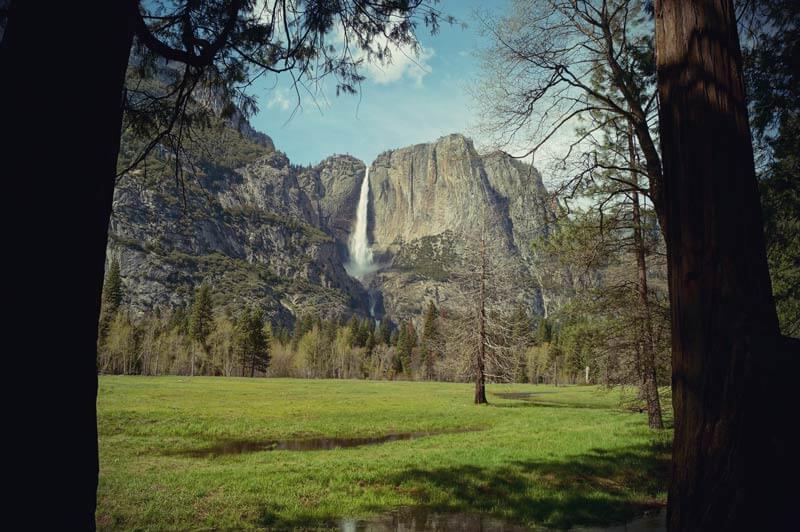 Kalifornien Roadtrip Yosemite Falls