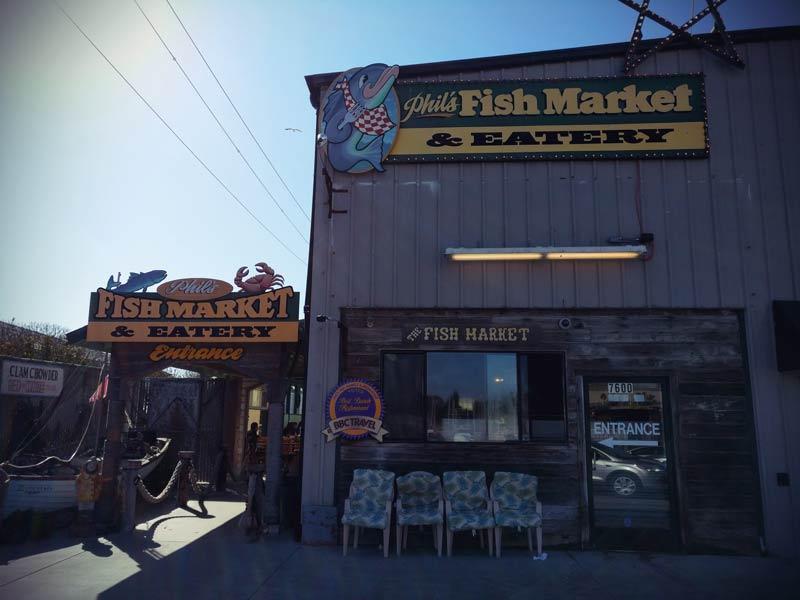 Roadtrip Kalifornien Phil's Fish Market