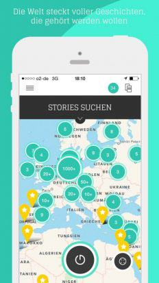 Audioguide me stories suchen