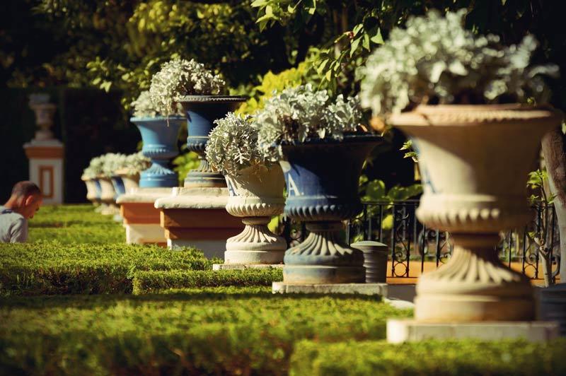 Gartenanlage im Real Alcazar