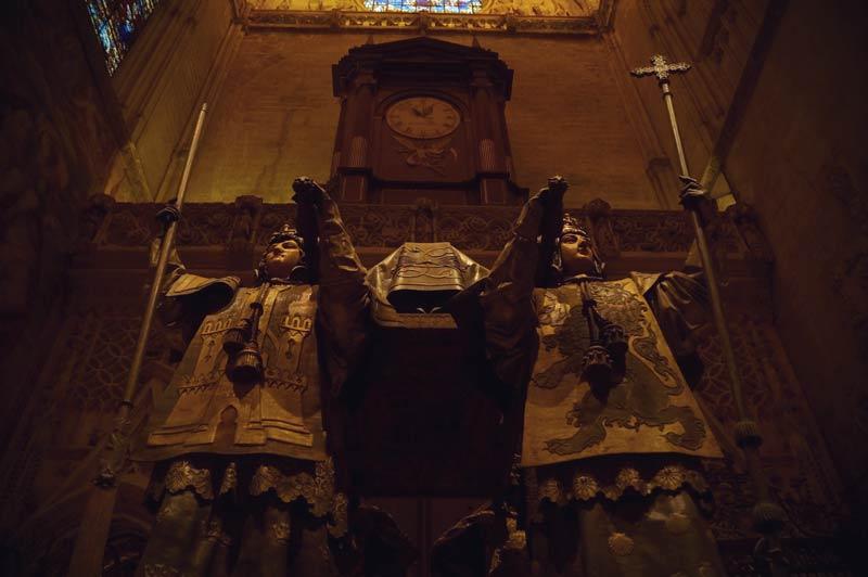 Grab von Christoph Kolumbus in der Kathedrale von Sevilla