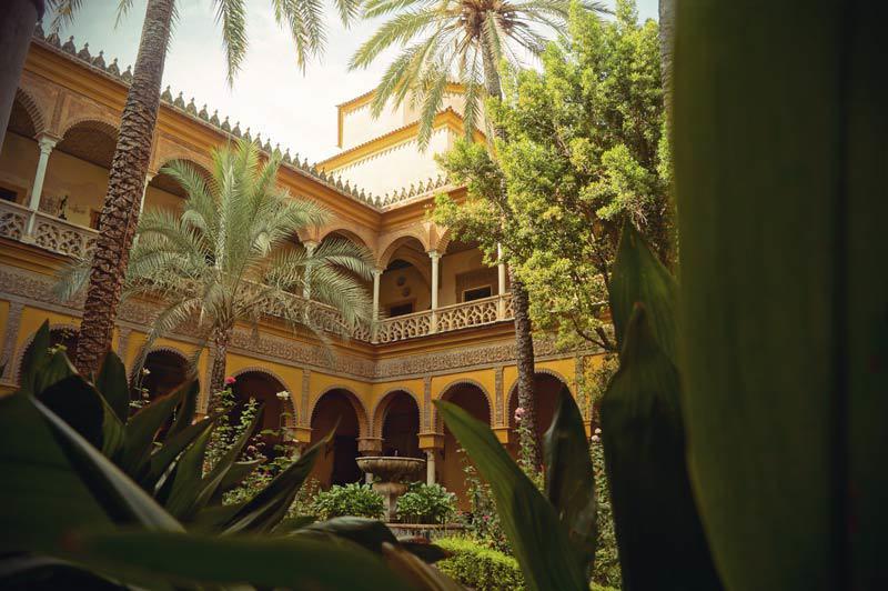 Innenhof des Palacio de Las Duenas