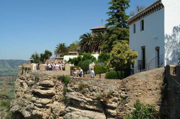 Palacio de Mondragon Gärten in Ronda