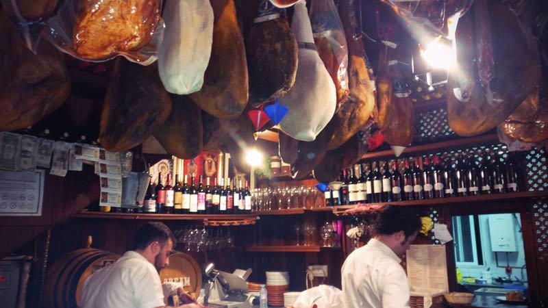 Tapas Bar Bodega el-Socorro in Ronda