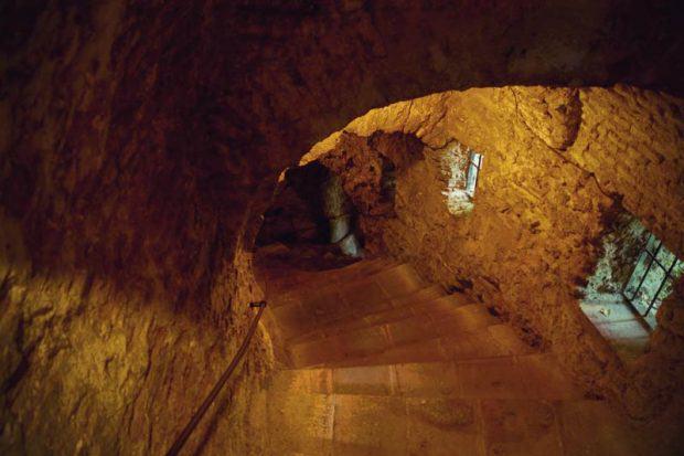 Treppe zur La Mina de Agua