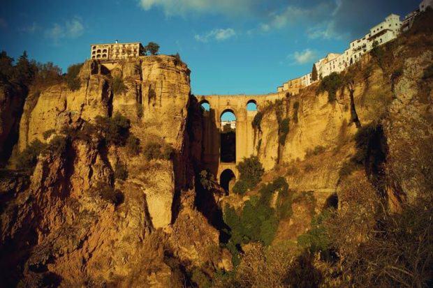 Brücke Puente Nuevo in Ronda