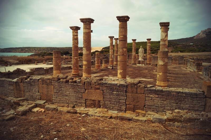 historische Ausgrabungsstätte in Bolonia