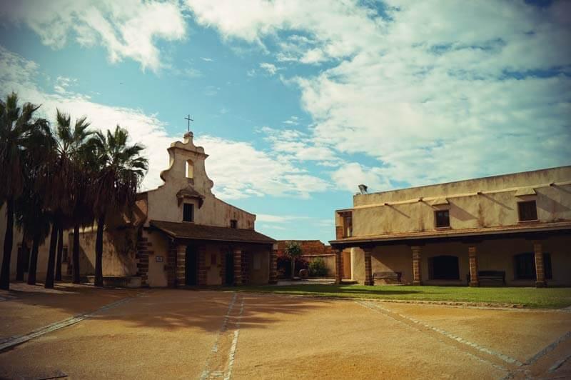 Castillo Santa Catalina in Cadiz