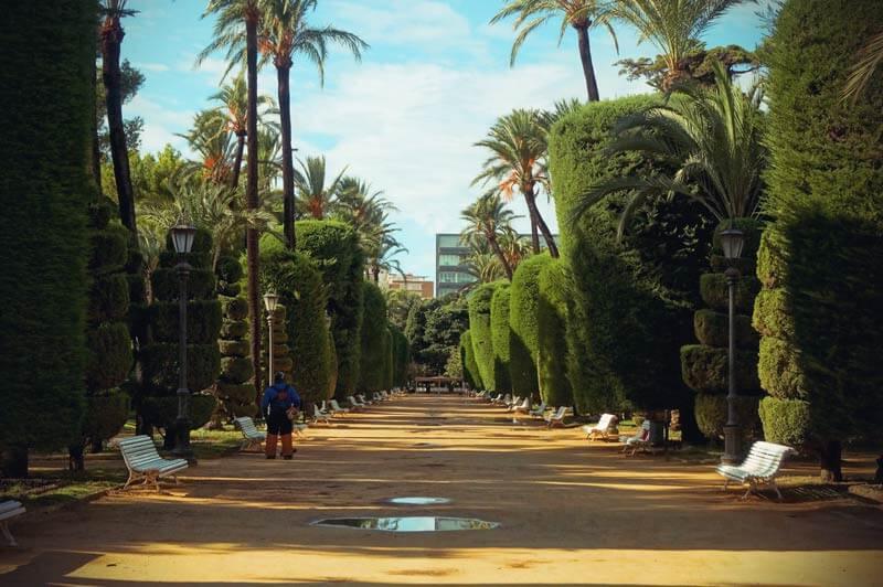 Park Genova in Cádiz