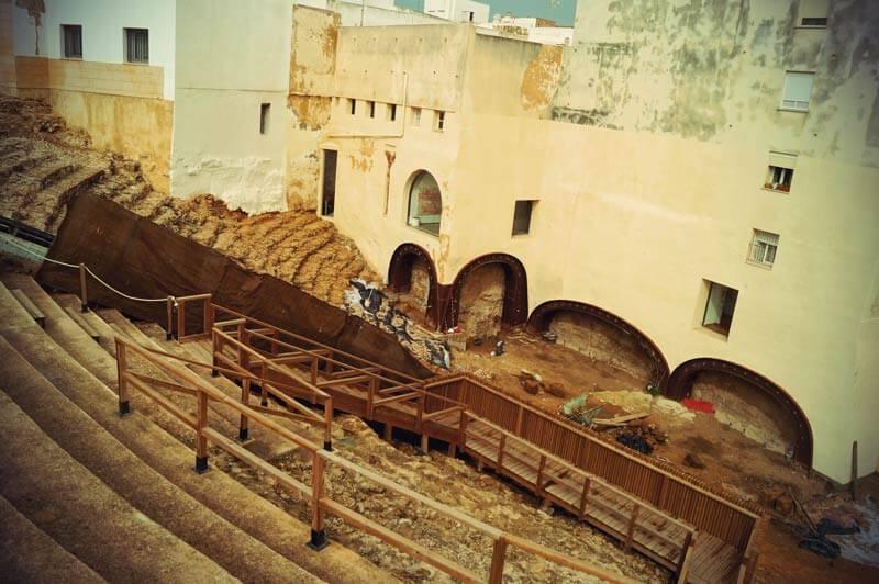 Römisches Theater in Cadiz