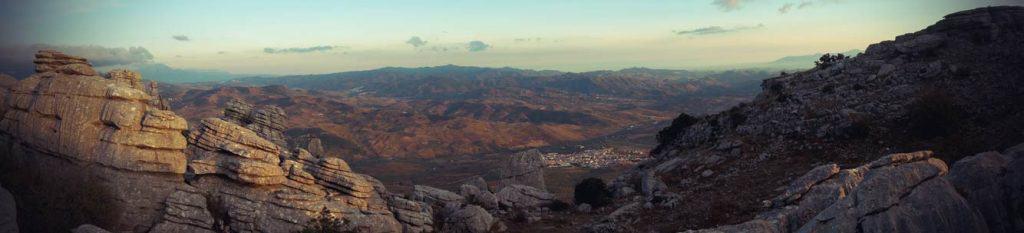 PanoramaBlick von El Torcal