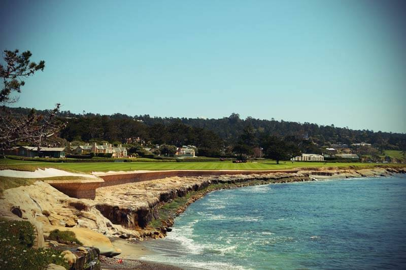 Pacific Coast Highway: Pebbles Beach Golfplatz
