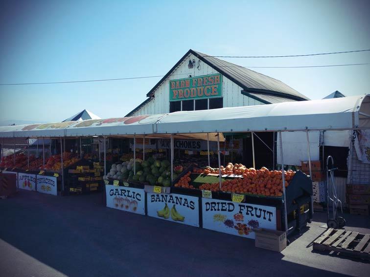 Gemüseladen am Pacific Coast Highway in der Nähe von Castroville