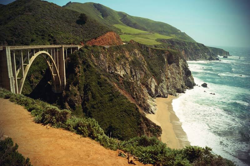 Pacific Coast Highway: Bixby Bridge