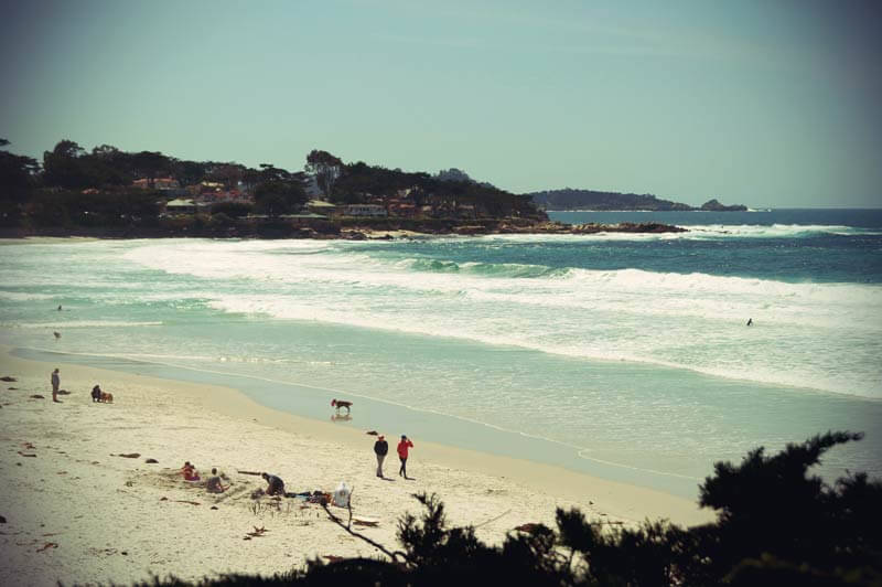 Pacific Coast Highway: Carmel by the sea Strand