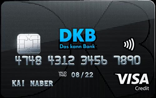 Reisekreditkarte der DKB: DKB Cash