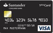 Reisekreditkarte Santander