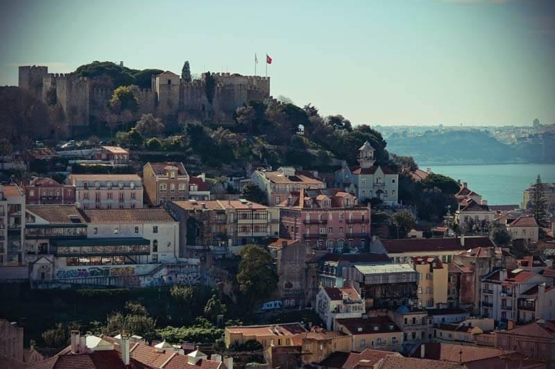 castelo de Sao Jorge in Lissabon.