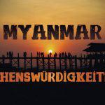 Myanmar Sehenswürdigkeiten Artikel