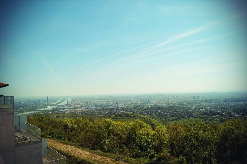 Ausblick über Wien vom Kahlenberg