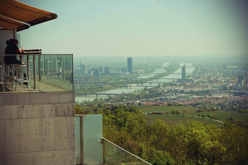 Ausblick vom Hotel Kahlenberg