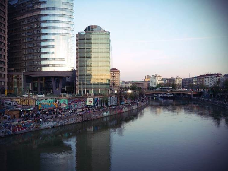 Jugendkultur am Donaukanal
