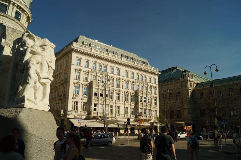 Das Hotel Sacher in Wien