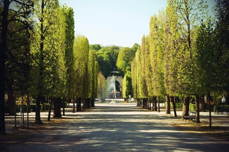 Brunnen im Schlosspark Schönbrunn