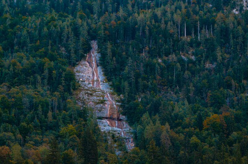 Königssee Sehenswürdigkeiten: Königsbach Wasserfall