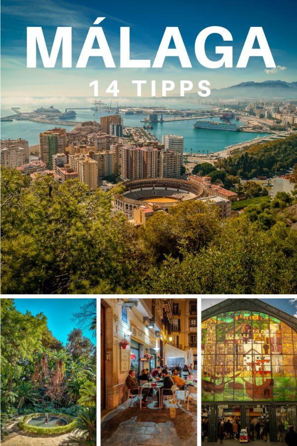 Málaga Tipps Pinterest