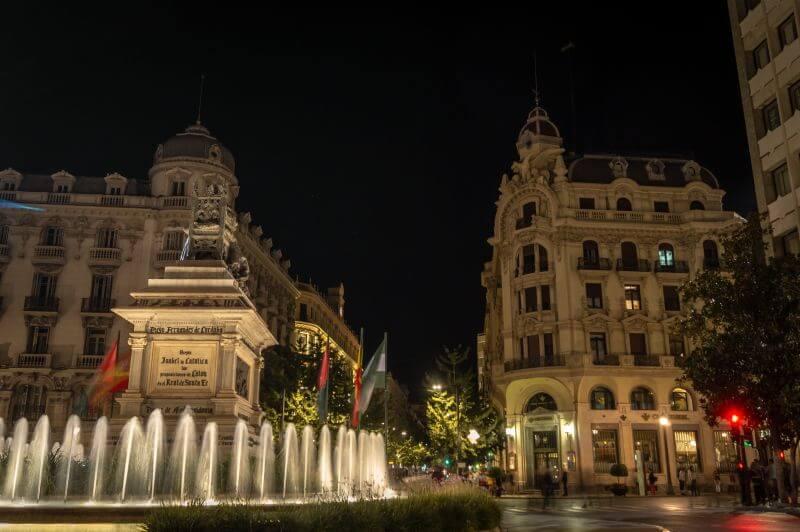 Zentrum von Granada