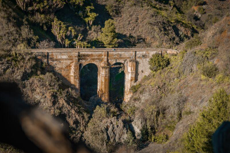 Málaga Tipps Aquädukt