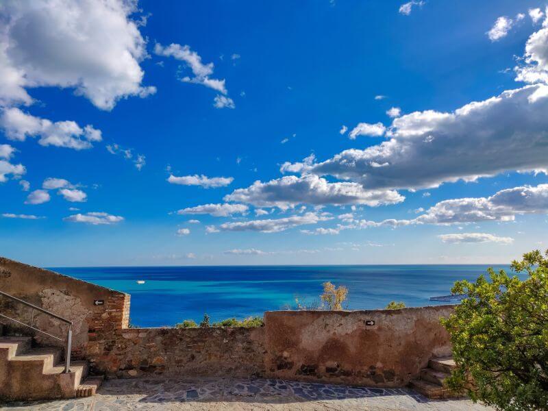 Málaga Tipps Blick von der Gibralaro Burg