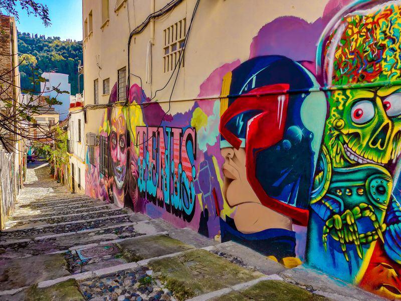 Málaga Tipps Streetart