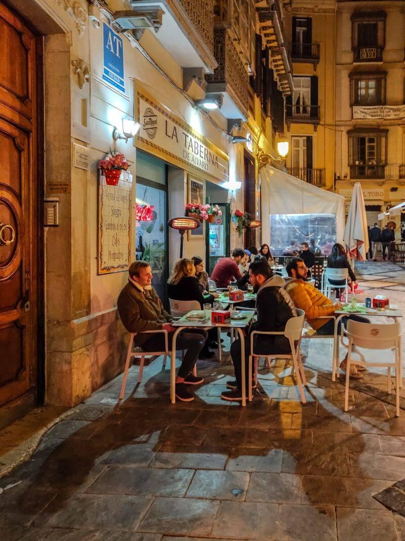Málaga Tipps Taberno de Alvaro