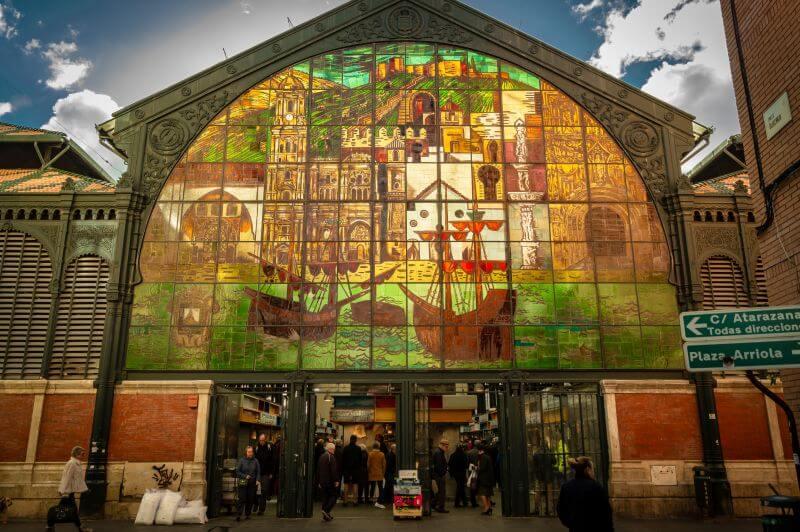 Málaga Tipps Eingang zum Mercado Central de Atarazanas