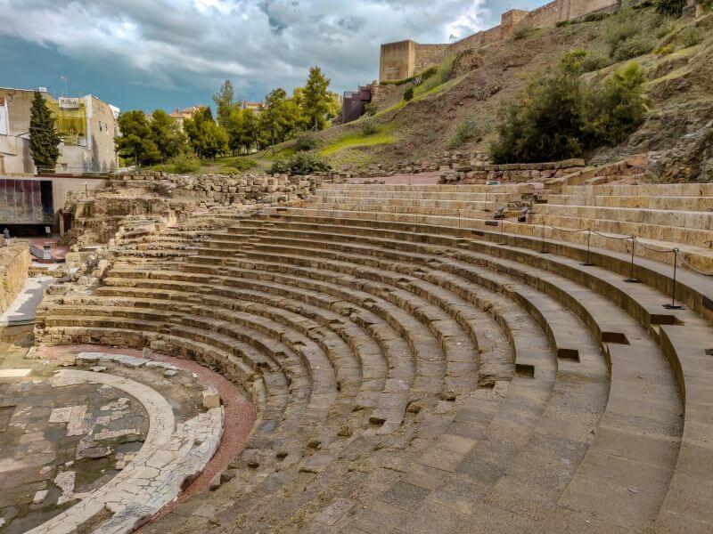 Málaga Tipps römisches Theater vor der Alcazaba