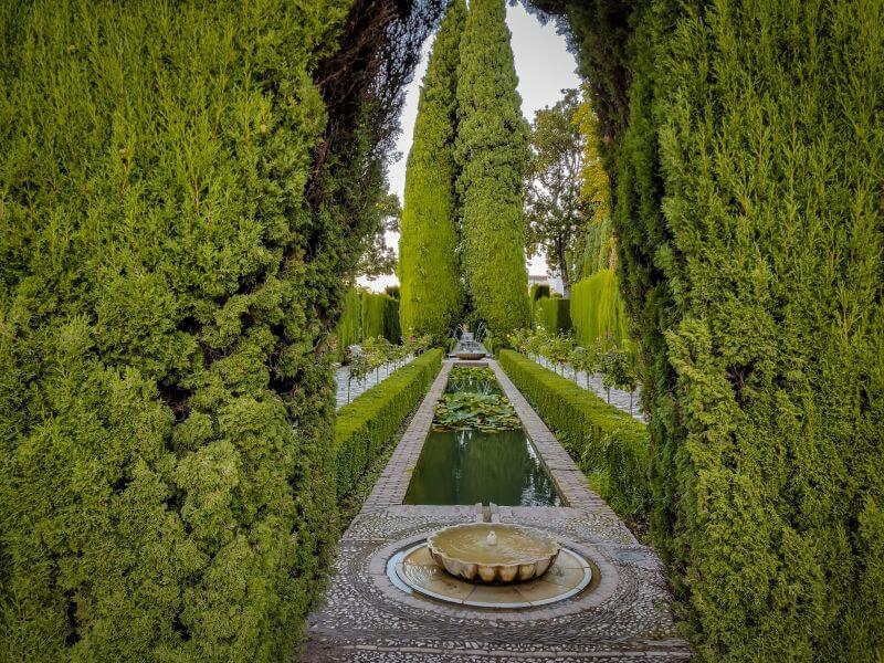 Garten im Genaralife