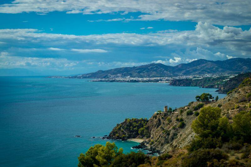 Küstenlandschaft im Naturpark Cerro Gordo