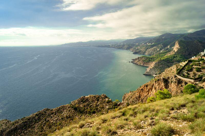 Der Blick vom Turm Cerro Gordo.