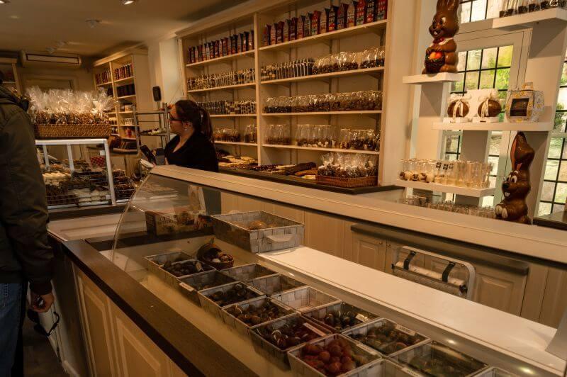 Schokoladenladen in Brügge